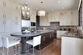 Kitchen Island Ideas And Designs Freshomecom - Kitchen design with dining table