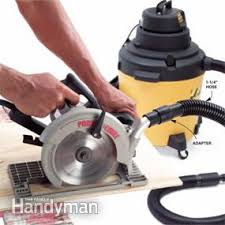 table saw vacuum dust collector using a shop vacuum for dust collection family handyman