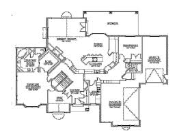 rambler floor plans walkout basement by builderhouseplans