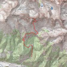 Map Of Colorado 14ers by 100summits Climbing Dallas Peak Roped Up Above Telluride Colorado