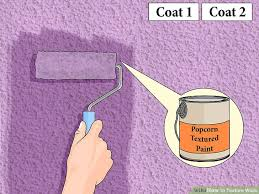 Textured Painted Walls - 3 ways to texture walls wikihow