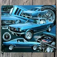ford mustang metal wall compare prices on metal ford signs shopping buy low price