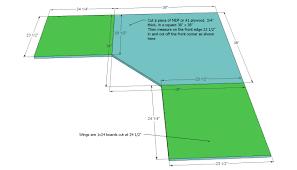 Floating Desk Plans How To Make A Corner Desk Floating Wall Mounted Corner Desk Diy