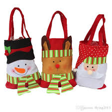 christmas gift bag 2016 christmas decoration candy bags santa merry christmas gift