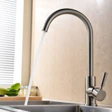 one handle kitchen faucets moen 7594esrs arbor with motionsense one handle high arc pulldown