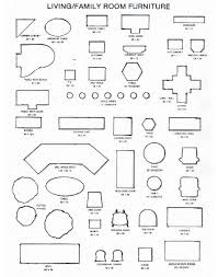 furniture templates for floor plans 28 images of printable 1 4 inch patio furniture template tonibest com