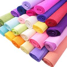 where can i buy crepe paper 4roll lot quality fancy color side crepe paper roll