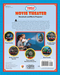 thomas u0026 friends movie theater storybook u0026 movie projector book