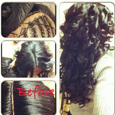 full sew in weave with no hair out sew in w invisible part