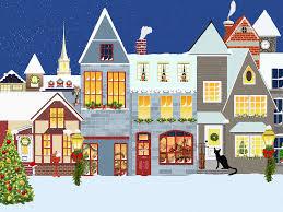 christmas houses free illustration christmas houses snow free image
