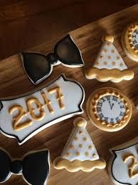New Year S Decorated Cookies by 53 Best New Years Cookies Images On Pinterest