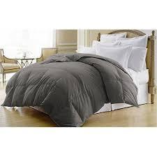 Down Comforters Premium Duck Down Comforter In Grey 400 Thread Count
