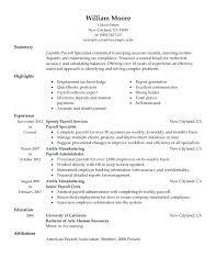 accountant resume template payroll accountant resume staff accountant resume resume templates