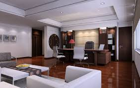home office ceo office with wooden floors modern chinese style