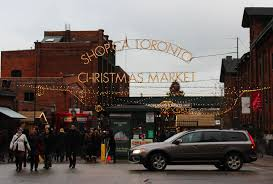toronto christmas market at the distillery district justin plus
