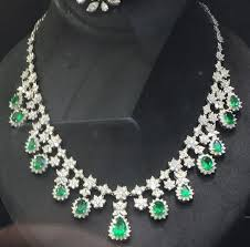 gold diamond emerald necklace images 38 best emerald necklaces images emerald jewelry jpg