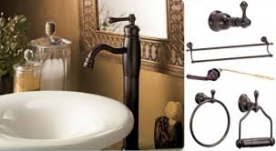 Brushed Bronze Faucets Oil Rubbed Bronze Bathroom Accessories With Oil Rubbed Bronze
