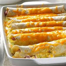 brunch ham enchiladas recipe taste of home