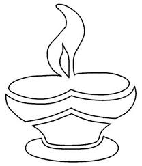 Celebrate Light Victory Over Darkness On Diwali Coloring Page Netart Light Coloring Page