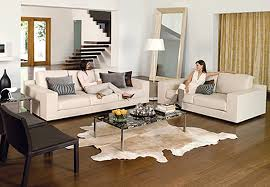 Pictures Of Living Rooms With Leather Furniture Living Room With White Leather Catosfera Net