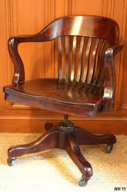 fauteuil de bureau basculant fauteuil de bureau de type américain origine usa vers 1930