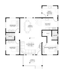 floor plan bedroom apartment modern cottages blueprints porch floor plan small exterior cottages story wrap plan modern built