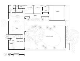courtyard u shaped house plans hahnow