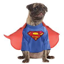 pet costumes superman pet costume the animal rescue site