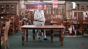 huge oak expanding dining table 4 u0027 8 u0027 10 u0027 12 u0027 15 u0027 20 u0027 foot youtube