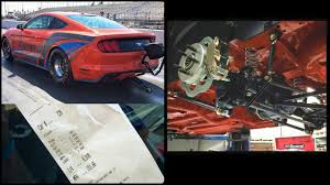 2015 mustang gt quarter mile 2015 mustang gets solid rear axle conversion as cobra jet test car