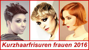 Modische Kurzhaarfrisuren Frauen by Kurzhaarfrisuren Frauen 2016
