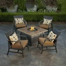 Best Patio Dining Set Patio Furniture Table And Chairs 5 Padded Sling Patio Dining