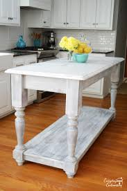 furniture style kitchen island 15 gorgeous diy kitchen islands for every budget