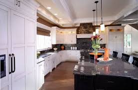 Kitchen White Cabinets Black Countertops Sheridan Mirrored Writing Desk Mirrored Writing Sawhorse Desk