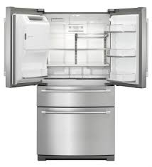 Maytag Drawer Dishwasher Stainless Steel Maytag French Door Fridge With 4 Doors Mfx2876drm