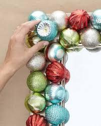 Christmas Ornaments Crafts Martha Stewart by Ornament Mirror Martha Stewart