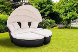 rattan bali day bed 2 colours