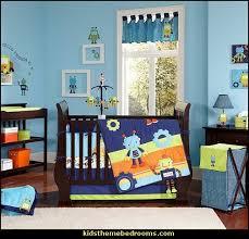 Rocket Ship Crib Bedding Space Bedroom Decor Rocket Ship Bedding For Boys Space Theme Baby