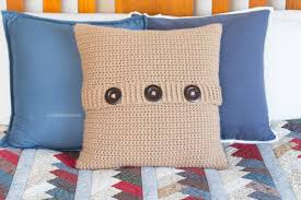 Knit Cushion Cover Pattern Hopeful Honey Craft Crochet Create Cabled Throw Cushion Cover