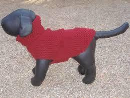 chihuahua burgundy knitted sweater craftyforyou on artfire
