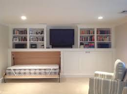 Horizontal Murphy Beds Stupefying Pull Out Bed Decorating Ideas For Basement Transitional
