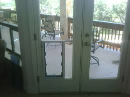 Patio Door With Pet Door Built In Door With Door Door Decorations