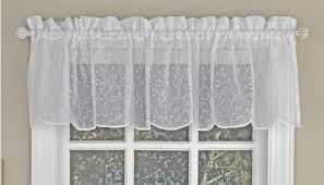 Sheer Valance Curtains Floral Spray Semi Sheer Valance Curtain Curtain Bath Outlet