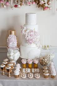 rose gold candy table beautiful baroque bridal shoot bridal musings weddbook