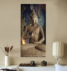 1 home decor wall hanging art paintings oriental buddha statue