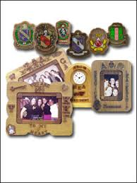 sorority picture frames crest paddle trs