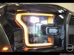 Ford Raptor Headlights - 2017 ford f 150 raptor shadow black black 801a w only 850 miles
