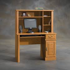 Computer Hutch With Doors Furniture Narrow Wooden Computer Desk With Hutch Cabinet Cool