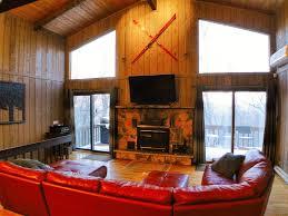 Modern Cabin by Beautiful Modern Cabin Pool Table Homeaway Bushkill