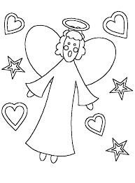hd wallpapers angel gabriel visits mary coloring pages